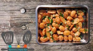 Cartofi noi cu usturoi si ceapa